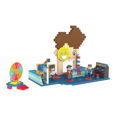 FGTeev Funnel Boy's Construction Fun House Deluxe Buildable Set