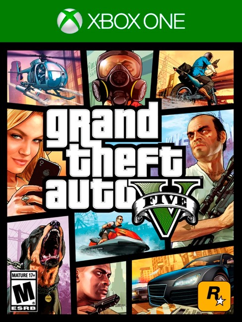 Grand Theft Auto V Xbox One - image 1 of 15