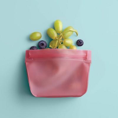 2pk PEVA Reusable Snack Bag Coral Dream - Room Essentials™