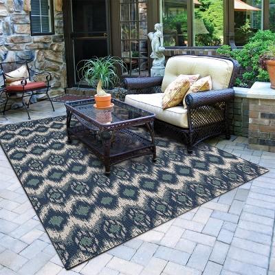 Beau Ikat Outdoor Rug   Threshold™ : Target