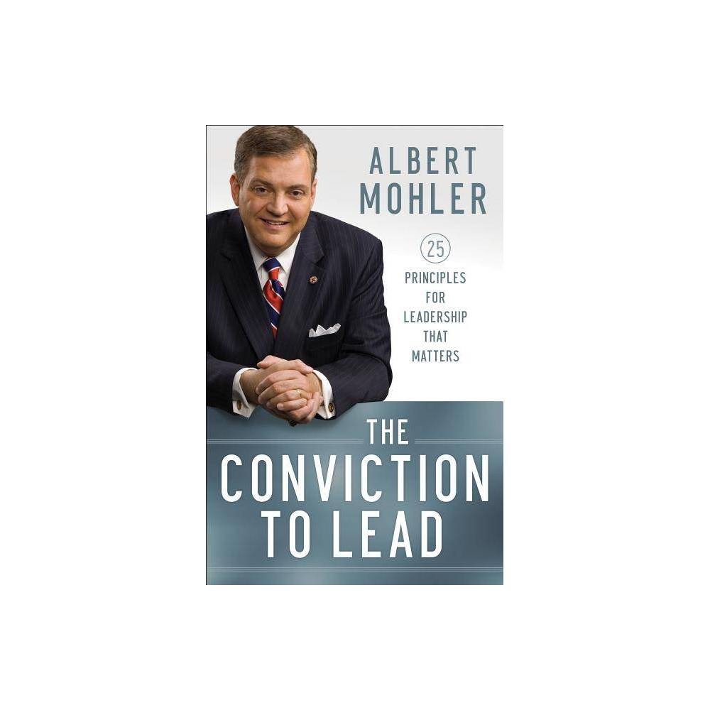 The Conviction To Lead By Albert Mohler Counterpack Empty