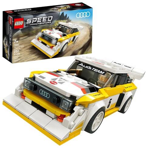 LEGO Speed Champions 1985 Audi Sport Quattro S1 Toy Car Building Kit 76897 - image 1 of 4