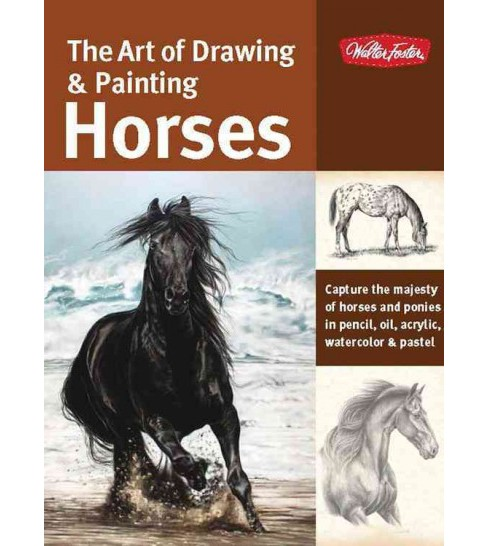 Art of Drawing & Painting Horses (Paperback) (Patricia Getha) - image 1 of 1