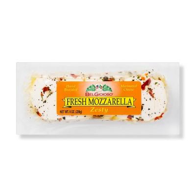 Belgioioso Fresh Mozzarella Cheese Zesty - 8oz