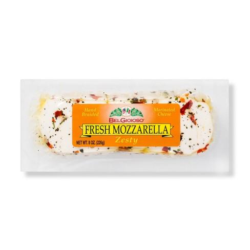 Belgioioso Fresh Mozzarella Cheese Zesty - 8oz - image 1 of 1