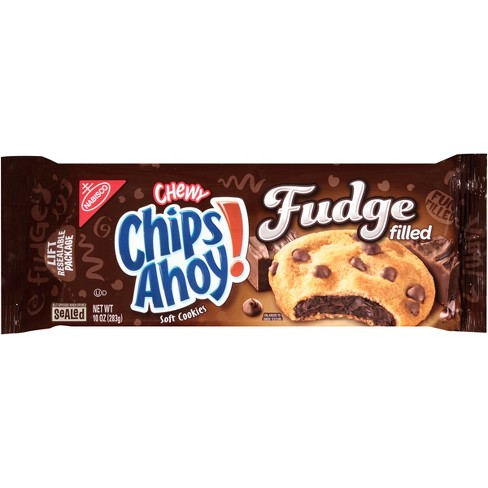 Chips Ahoy! Chewy Choco-Fudge Filled Cookies - 10oz - image 1 of 2