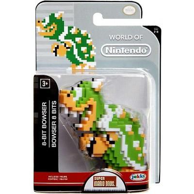World Of Nintendo Super Mario 8 Bit Bowser 2 5 Inch Mini Figure