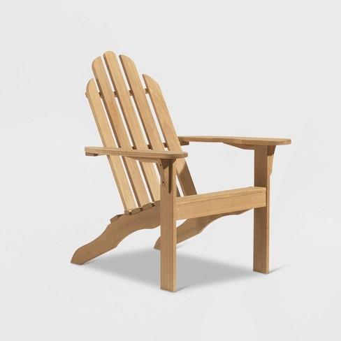 Oxford Adirondack Chair Natural - Oxford Garden - image 1 of 1