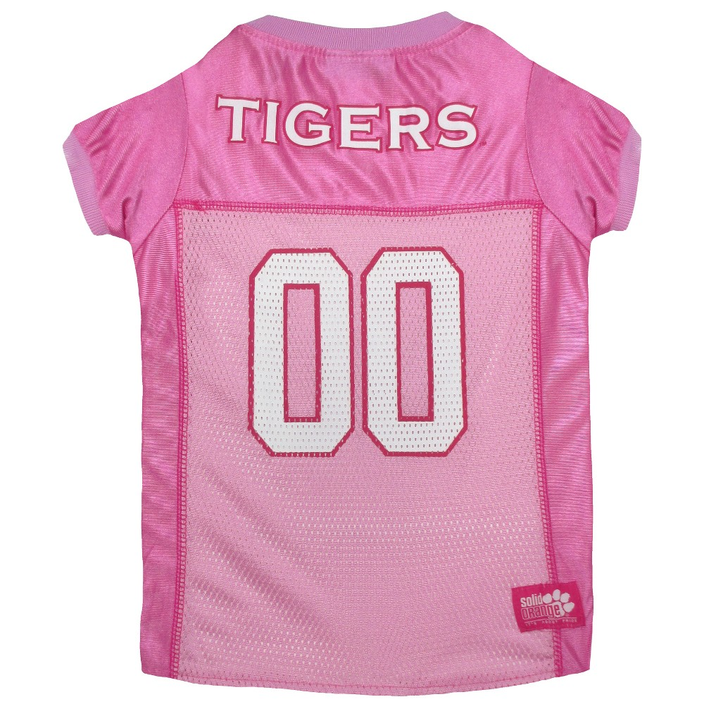 Pets First Clemson Tigers Pink Jersey - XS, Multicolored