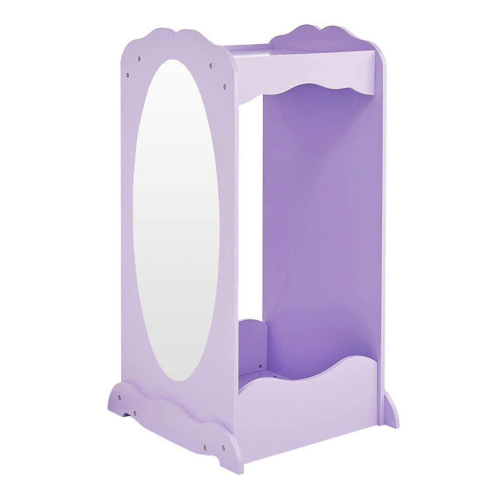 Image of Clothing Armoire Lavender - Guidecraft, Gray