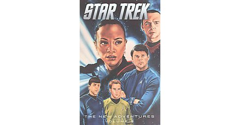 Star Trek The New Adventures 3 (Paperback) (Mike Johnson) - image 1 of 1