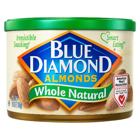 Blue Diamond Almonds Whole Natural - 6oz - image 1 of 1