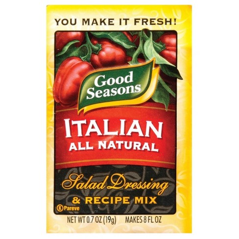 Good Seasons Italian Dressing and Recipe Mix - 0.7oz - image 1 of 2