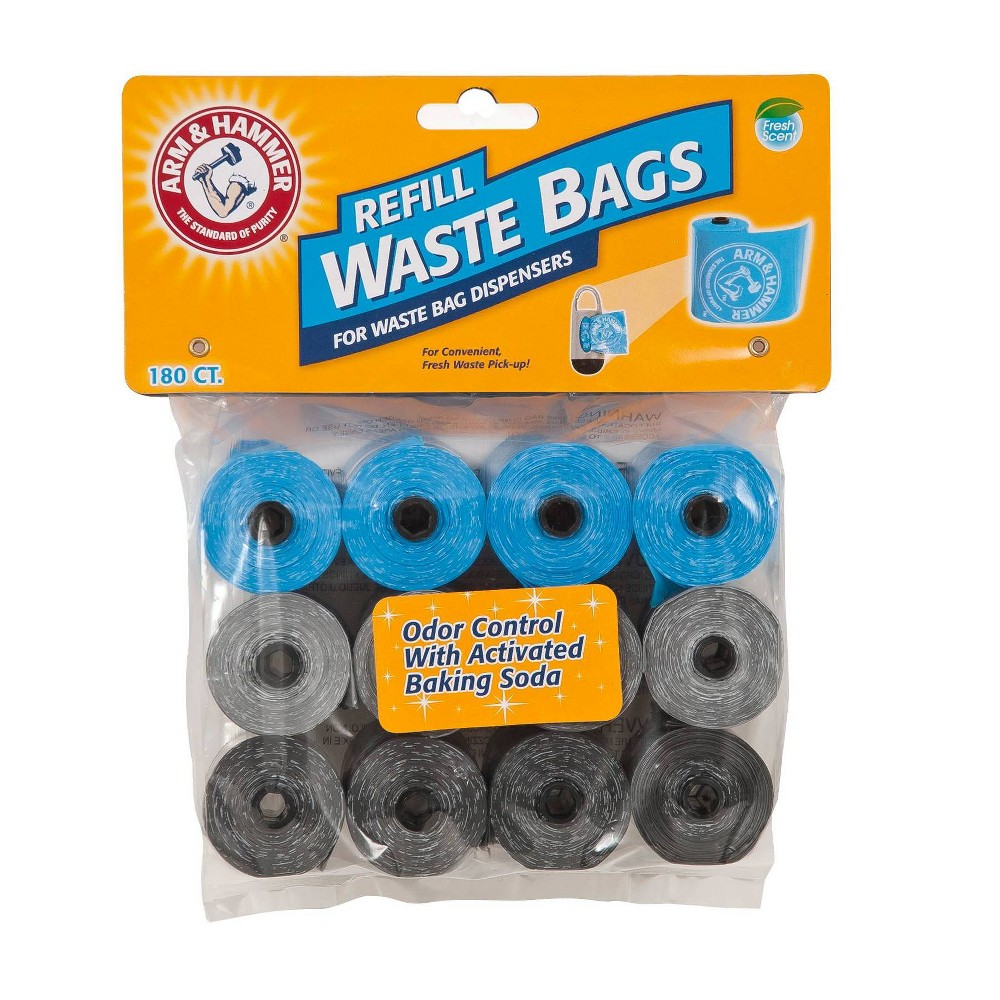 Arm & Hammer Waste Bags - 180ct