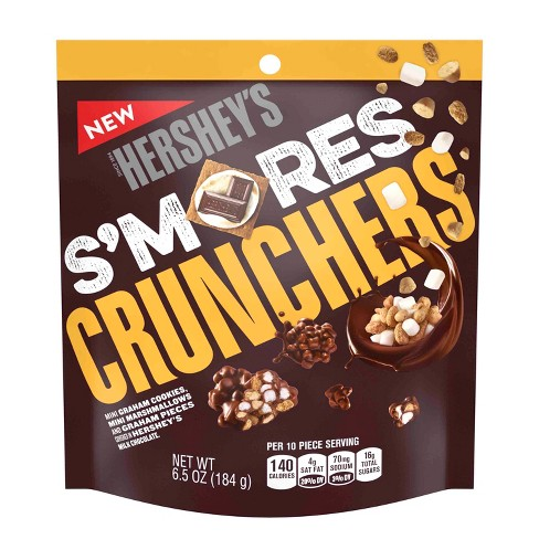 Hershey's S'mores Crunchers - 6.5oz - image 1 of 4