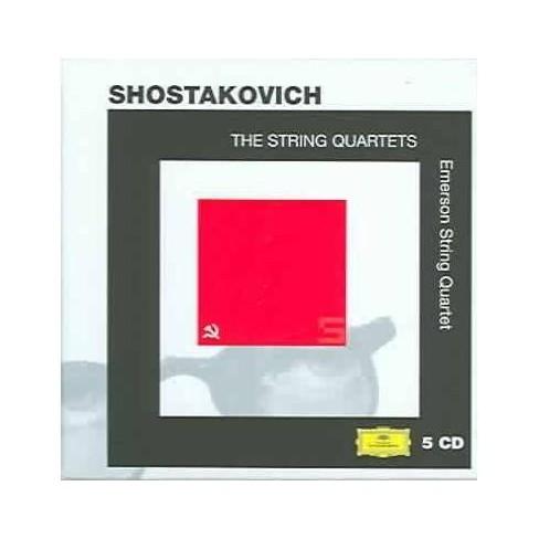 Dmitry Shostakovich - Shostakovich: The String Quartets (CD) - image 1 of 1