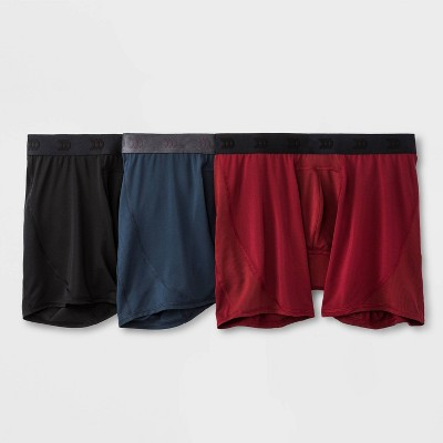 Men's Jersey Mesh Performance 3pk Boxer Briefs - All in Motion™