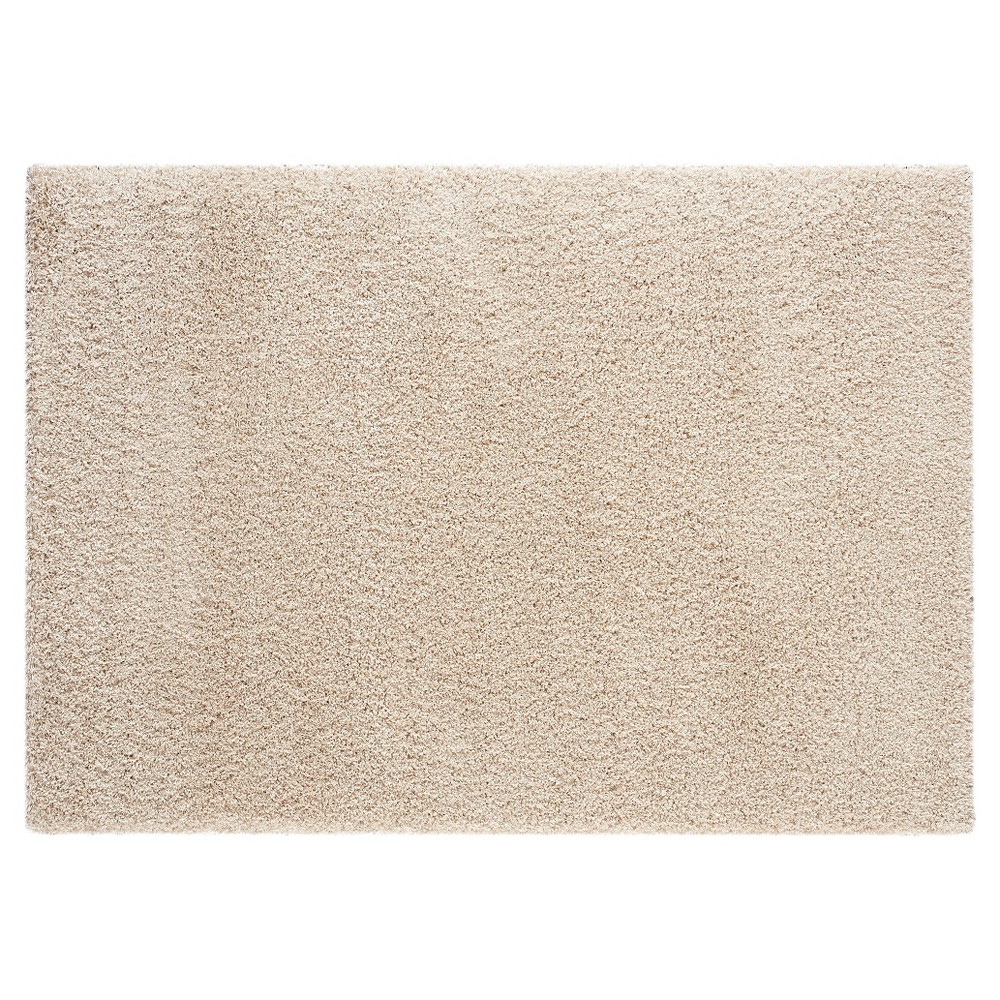 Image of 5'X7' Solid Area Rug Taupe Brown - Balta Rugs, Brown Off-White
