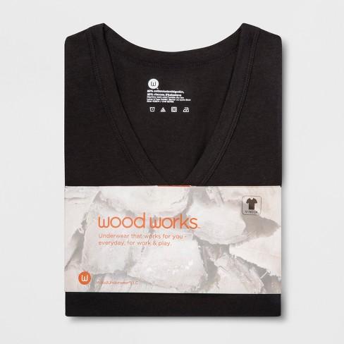 ef94fc9ea3 Men s Wood Works Short Sleeve V-Neck T-Shirt   Target