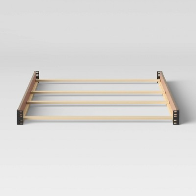 Simmons Kids' Full Size Bed Rails Works with Monterey, Willow & Foundry Cribs - Rustic White
