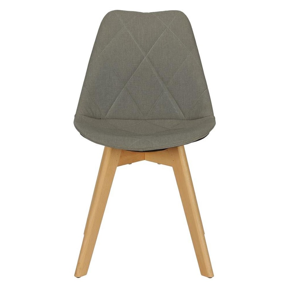 Image of Brisbane Dining Chair - Gray - Dorel Home Products