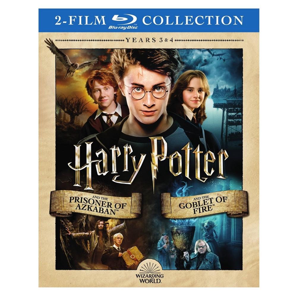 Harry Potter:Yr3 Prisoner Azkaban/Yr4 (Blu-ray)