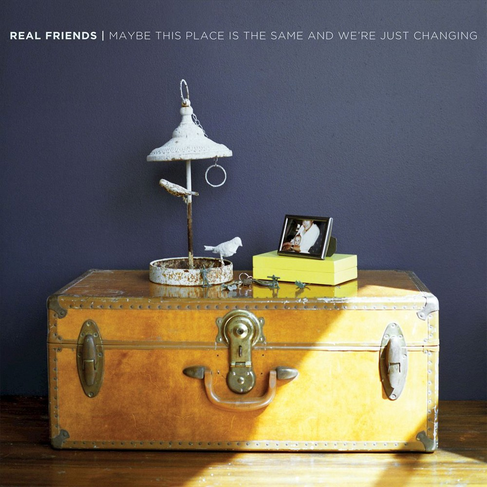 Real Friends - Maybe This Place Is The Same And We'r (CD)