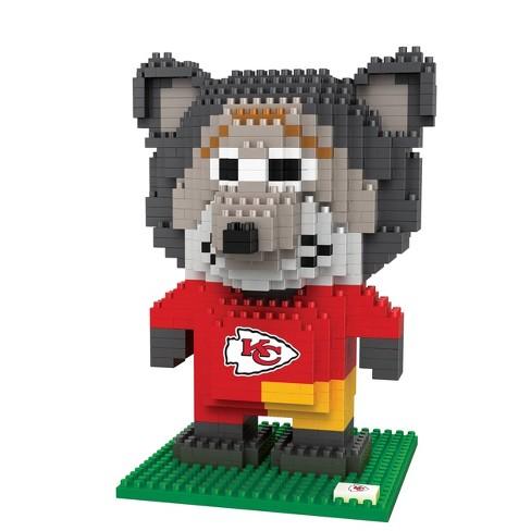 NFL Kansas City Chiefs BRXLZ Mascot Figure 1000pc - image 1 of 1