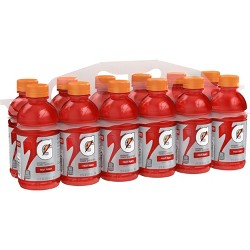 Gatorade Fruit Punch Sports Drink - 12pk/12 floz Bottles
