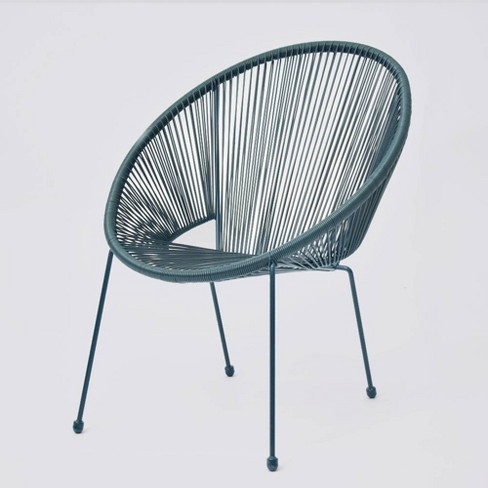 Fisher Stack Patio Egg Chair Green