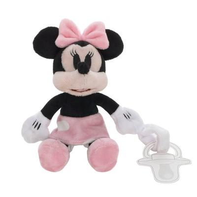 Disney Minnie Pacifier Buddy Stuffed Animal