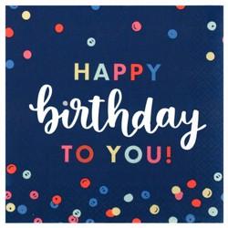 20ct Everyday Happy Birthday Lunch Napkin - Spritz™