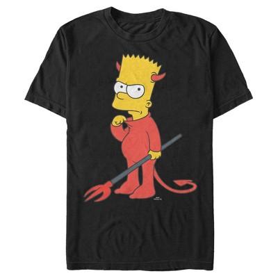 Men's The Simpsons Devil Bart T-Shirt
