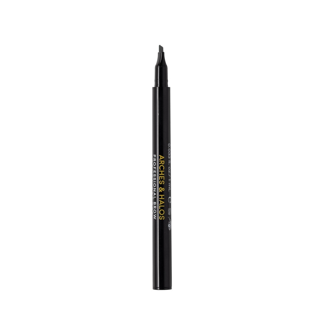 Arches 38 Halos New Microblading Brow Shaping Pen Charcoal 0 033 Fl Oz