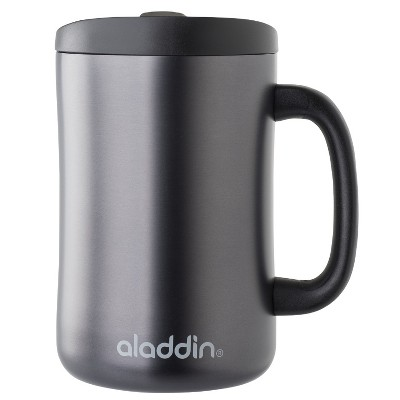 Aladdin Stainless Steel Insulated Coffee Travel Mug 16oz - Black