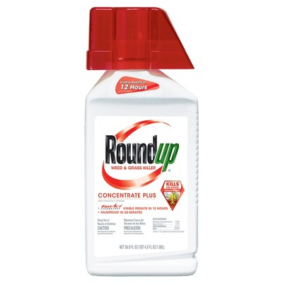 Roundup Weed & Grass Killer 36.8oz Concentrate Plus