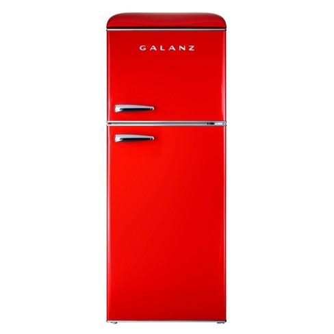 Galanz 4 6 Cu Ft True Freezer Dual Door Refrigerator Target