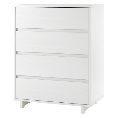 Modern 4 Drawer Dresser White - Room Essentials™