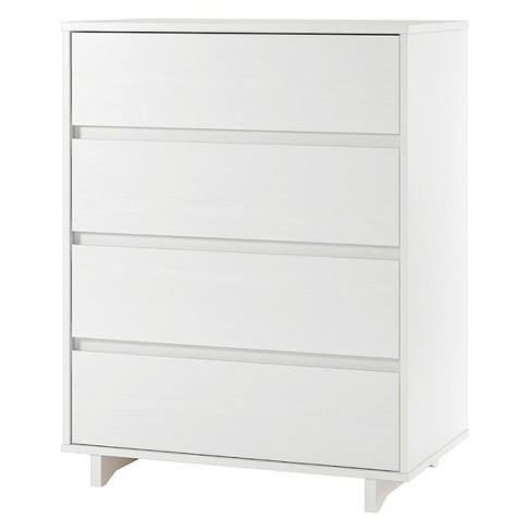 Modern 4 Drawer Dresser White Room Essentials Target
