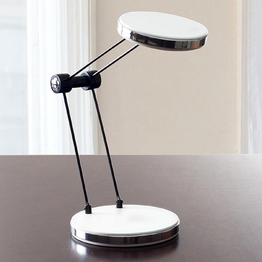 Led Foldable Desk Lamp Usb by Lavish Home, White