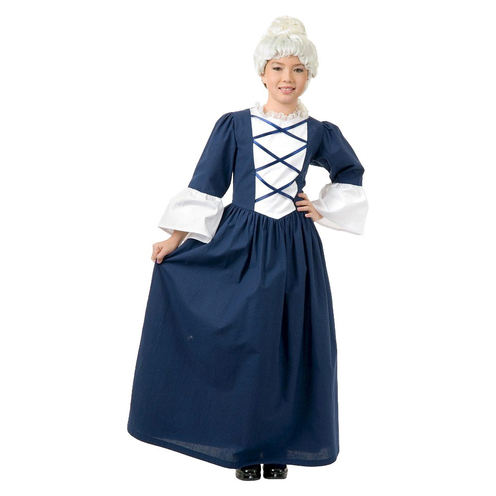 Image of Halloween Girls' Martha Washington Costume Large (10-12), Girl's, Size: Large(10-12)