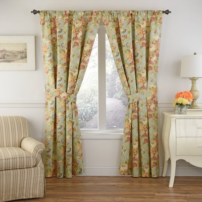 Spring Bling Light Filtering Curtain Panel - Waverly