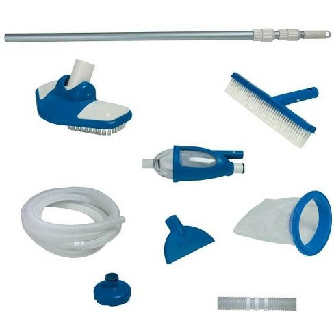 "Intex Deluxe Pool Maintenance Kit & Hydrotools 7"" Chlorine Dispenser for Tablets - image 1 of 4"