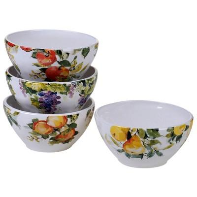 22oz 4pk Earthenware Ambrosia Ice Cream Bowls - Certified International