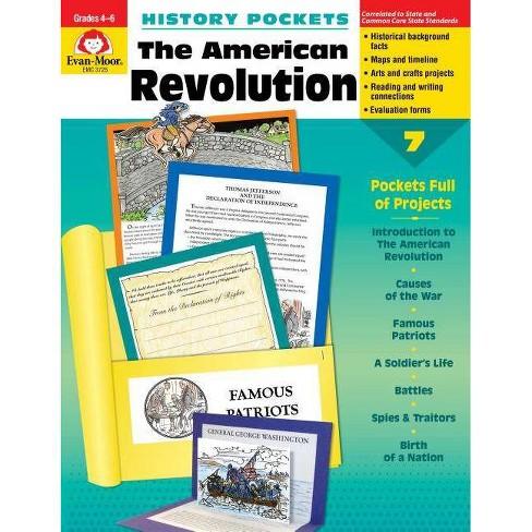American Revolution Grade 4-6+ - (History Pockets) (Paperback) - image 1 of 1