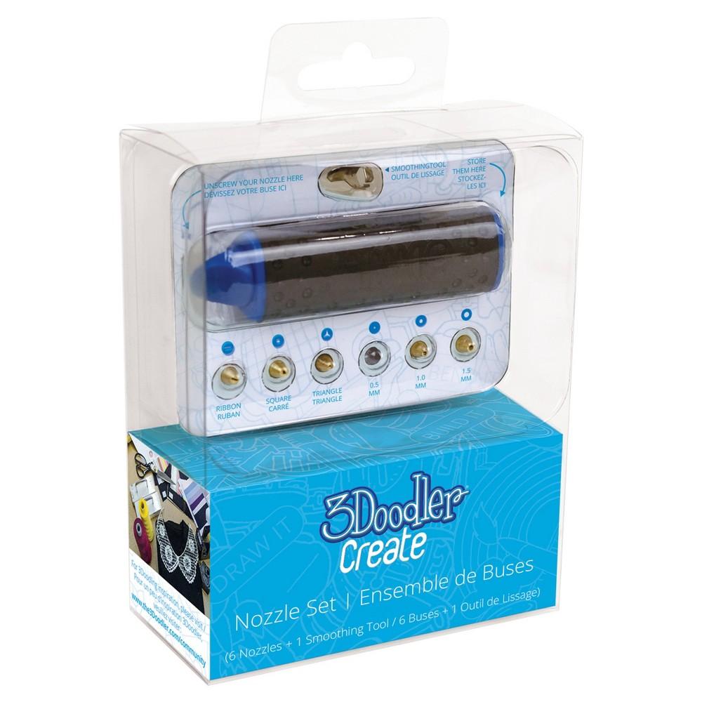 3Doodler Nozzle Set for 3Doodler Create Printing Pen, Black