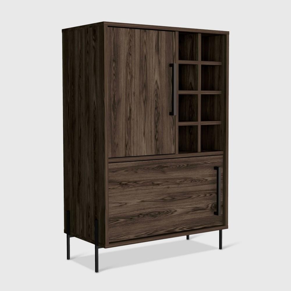 Page Bar Cabinet Brown Rst Brands