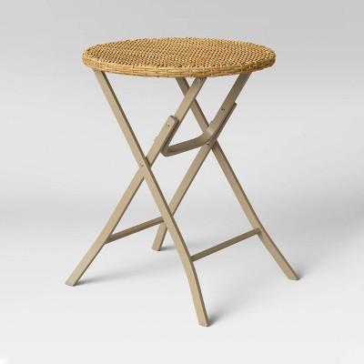 Monroe Folding Patio Bistro Table - Threshold™