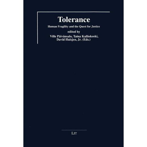 Tolerance - (Symposion - Towards For An Interdisciplinary Understanding /) (Paperback) - image 1 of 1