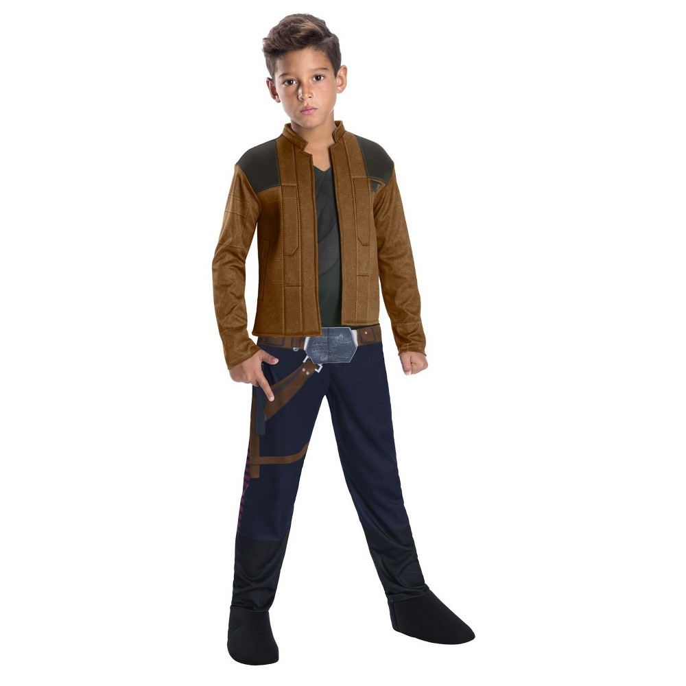 Boys' Solo A Star Wars Story Han Solo Halloween Costume L, Multicolored